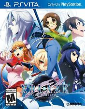 New! Xblaze Code:Embryo PS Vita PlayStation RPG Free Shipping Blaz Blue