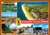 Nordseeheilbad Cuxhaven-Duhnen ,AK 1988 gel.