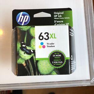 HP 63XL High Yield Tri-Color Genuine HP Original Ink Cartridge F6U63AN Option140