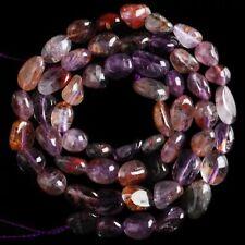 "V3992-h Super Seven Quartz Loose Beads 15"""