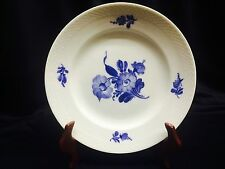 "Royal Copenhagen BLUE FLOWERS BRAIDED 9"" Luncheon Plate(s) # 8096 White Blue"