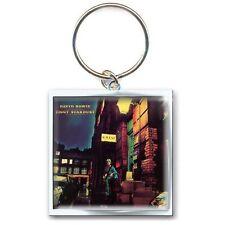 Official David Bowie - Ziggy Stardust - Metal Keyring