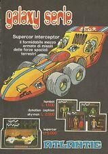 X4747 Galaxy Serie Supercar inerceptor - ATLANTIC - Pubblicità 1978 - Advertis.