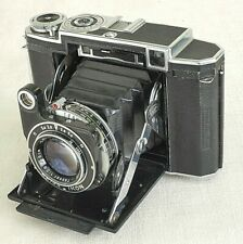Zeiss Ikon Super Ikomat/Ikonta 530/16 f2.8 Tessar 80mm Lens Camera/Leather Case
