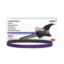 3M 33439 Cubitron II File Belt, 10mm x 330mm (3/8 in X 13 in), 60+ grit 10 Belts