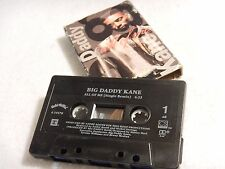 Big Daddy Kane : All Of Me / Cause I Can Do It Right - Remix Cassette Single