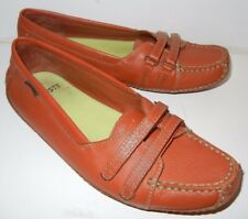 Lacoste Women's Albany Brown Confort Driving Moc Toe Shoe Size 5.5 M