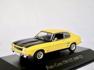 Ford Capri 1700 GT  1969-1972  gelb    /  IXO/Altaya   1:43