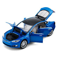 Tesla Model S 100D SUV 1:32 Scale Diecast Model Car Toy Sound&Light Collection