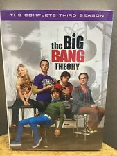 The Big Bang Theory: The Complete Third Season (DVD, 2010, 3-Disc Set) NEW!!