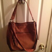 STEVEN by Steve Madden Madaxx Shoulder Handbag Tan