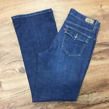 Levis 512 Perfectly Slimming Boot Cut Jeans With Tummy Control Womens 8 Short