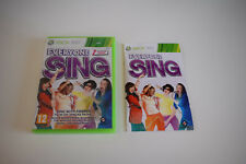 every one sing everyone xbox 360 xbox360