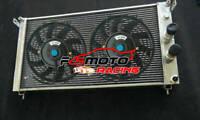 Alu Radiator + FAN For Ferrari DeTomaso De Tomaso Pantera 5.8L V8 MT 1971-1989