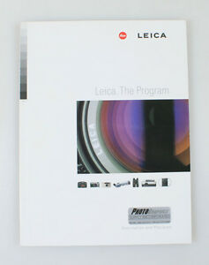 LEICA THE PROGRAM, COMPLETE SYSTEM GUIDE/CATALOG BOOK