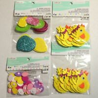 """Chicks  Chicken Hen Peep Easter Rubber Stamp Wood Mounted by Craft Smart 1/""""x3/"""""""