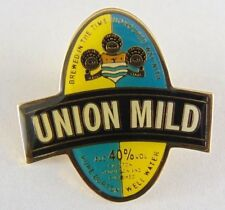 Union Mild Marton Thompson and Evershed Brewery Pin Badge - Pub - Ale House -