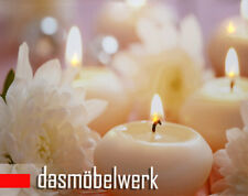LED Bild Wandbild mit Beleuchtung Leuchtbild Leinwand Geschenk Motivbild Kerze