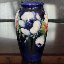 "Moorcroft Pottery Anemone Pattern 7.5"" Vase, Walter Moorcroft"