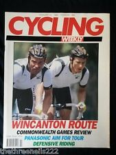 CYCLING WEEKLY - DEFENSIVE RIDING - FEB 15 1990