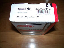 """1 Oregon 22LPX081G 20"""" chainsaw saw chain .325 pitch .063 81 DL replaces 26RS 81"""