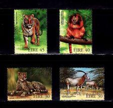 SELLOS FAUNA IRLANDA1998 1106/09 GORILA /TIGRE/LEOPARDO  4v.