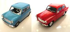 Set of 2 model cars Morris Mini 1964 + Skoda Octavia 1959 - 1:43 DIECAST LOT CAR