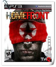 PS3 HOMEFRONT SONY PlayStation Shooting Games THQ