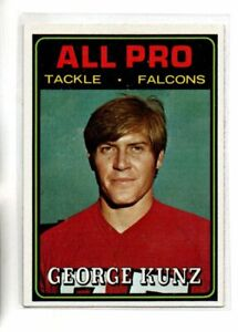 1974 TOPPS GEORGE KUNZ ALL PRO