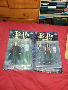 BUFFY ANGEL SPIKE AND DRUCILLA ACTION FIGRES MOORE CREATIONS