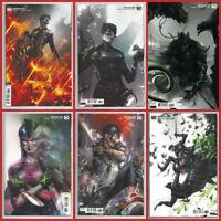 BATMAN #95 96 97 98 99 100 VARIANT SET Punchline Joker Harley DC 2020 NM- NM