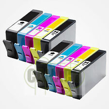 10 PK Ink 564XL replacement for HP 564XL BK+CLR *NEW* With CHIP-Shows Ink Level
