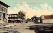 Forestville Connecticut Central Street Looking North Antique Postcard J63211