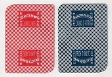 2 single playing cards, collect/swap jokers, Dakota Magic Casino & Hotel