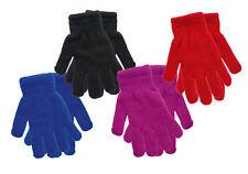 Kinder-THERMO-Handschuhe ''Uni'' Rot Blau Schwarz Lila Mädchen und Jungen CH7150