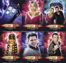Inkworks San Diego Exclusive Doctor Who Dr. Who 6 Card Promo Set DW1-6