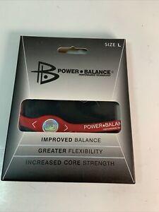 New, Original Power Balance Energy  Band/Bracelet, Large Red