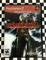 Devil May Cry 3 Dante's Awakening PS2 Special Edition PlayStation 2 Guaranteed