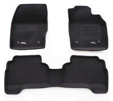 To suit Ford ESCAPE 2016 - 2018+ Black RUBBER 3D Car Mats