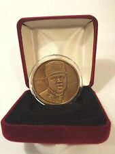 Ken Griffey, Jr. Highland Mint Bronze Medallion Troy Ounce Coin Seattle Mariners