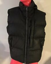 Polo Sport Ralph Lauren Vest Down&Poly&Feather Filled Puffer Hood Black  Size: L