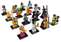 Lego Series 2 SET SEALED COMPLETE 16 MINIFIGURE SPARTAN Skier Maraca Karate 8684