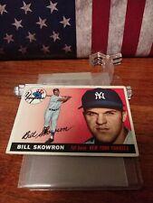 1955 Topps Bill Moose Skowron #22 Ny Yankees Very Nice Card No Creases