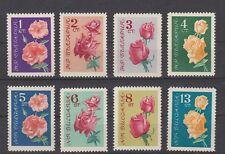 Bulgaria, Rosas 1962 1300-07 **, (22212)