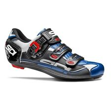 SIDI Genius 7 Carbon Road Cycling Shoes Bike Shoes White/Blue Size 36-46 EUR