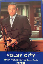 6x4 Hand Signed Photo Holby City Mark Moraghan -  Brookside Emmerdale - Tim