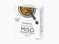 Clearspring Instant Miso Soup with Sea Vegetable 4 x 10g
