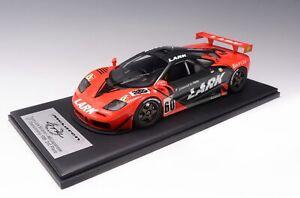 """1/12 scale Mclaren F1 GTR 1996 Japan GT champ car #60 """"Lark """" Leather Fiber Base"""