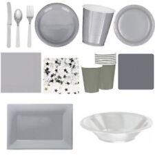Art de la table de fête gris Amscan pour la maison, pour toutes occasions