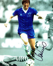 Gary STEVENS EVERTON Legend Signed Autograph 10x8 Photo C AFTAL COA